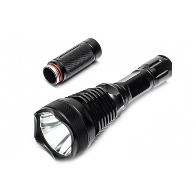 Фенер Cree BL-Q2800, 2x Li-ion батерии, 1200 lumens, за открито, черен image