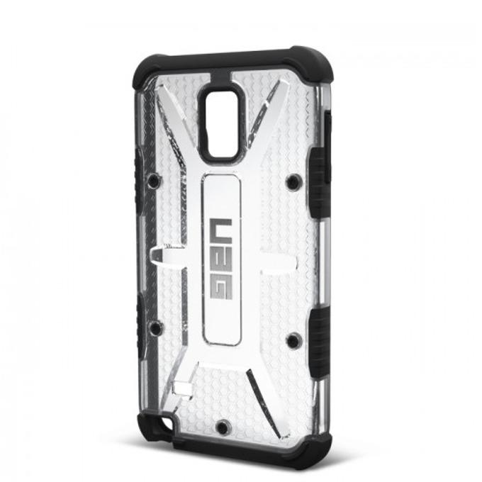 Поликарбонатов протектор Urban Armor Scout за Samsung Galaxy Note 4 (прозрачно-черен), удароустойчив image