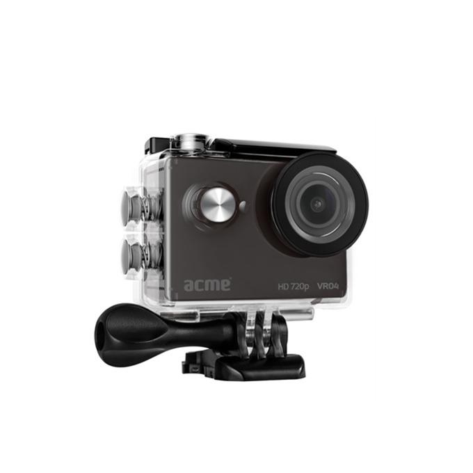 """Екшън Камера Acme VR04, HD 720p, 2"""" (5.08 cm) LCD дисплей, USB, черна, водоустойчив кейс image"""