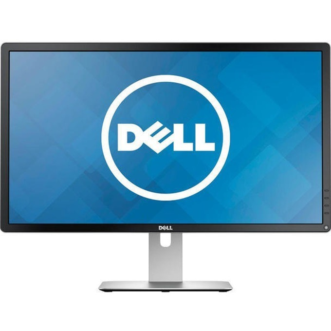 "Монитор 23.8"" (60.45cm) Dell P2415Q (P2415Q-B), ULTRA HD LED, IPS панел, 6ms, 2 000 000:1, 300cd/m2, HDMI (MHL), miniDP, 4-портов USB3.0 хъб image"