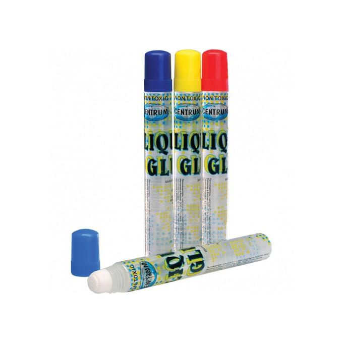 Течно лепило Centrum Liquid Glue, прозрачно, с тампон, 50мл., прозрачно, цената е за 1бр. (продава се в опаковка от 36бр.) image