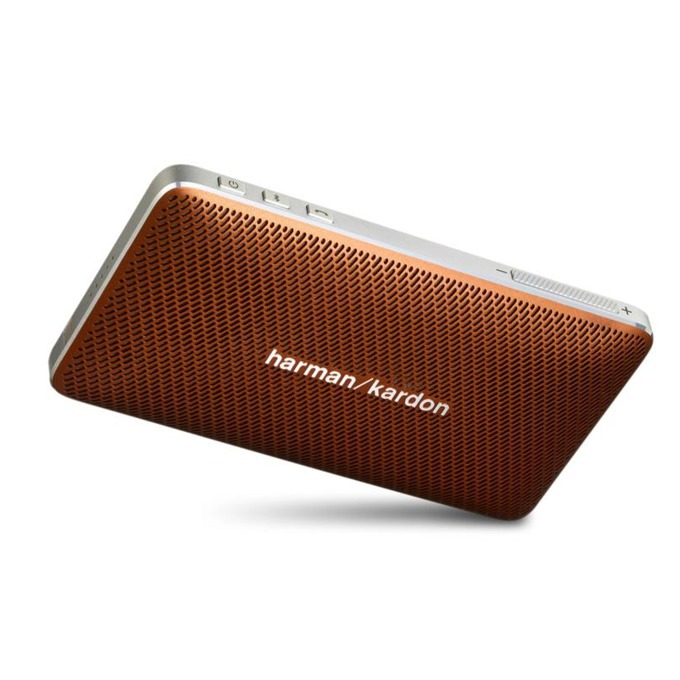 Тонколона Harman Kardon Esquire Mini, 1.0, 8W, Bluetooth, USB, кафява, микрофон image