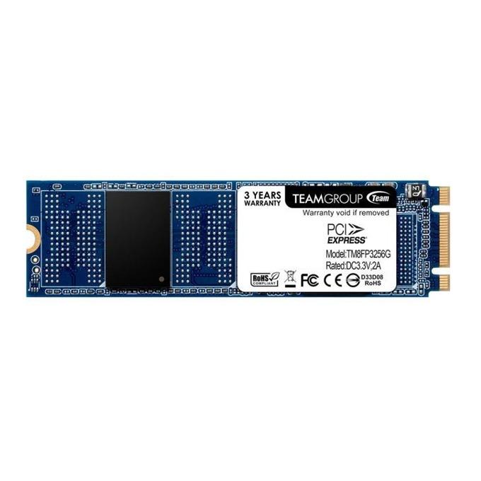 Памет SSD 256GB, TeamGroup MP32, NVMe M.2, скорост на четене 1500MB/s, скорост на запис 800MB/s image