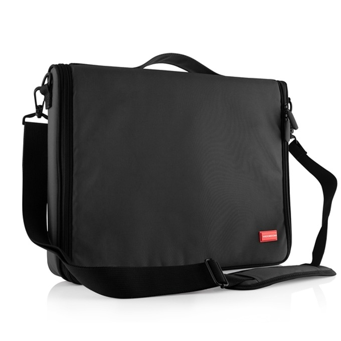 """Чанта за лаптоп Modecom Torino, до 15.6"""" (39.62 cm), два допълнителни джоба, черна image"""
