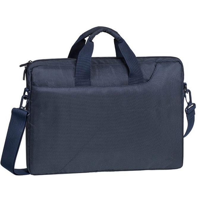 "Чанта за лаптоп Rivacase 8035, до 15.6"" (39.62 cm), тъмносиня image"