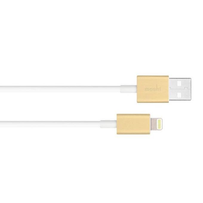Кабел Moshi 99MO023221, от Lightning(м) към USB-A(м), 1m, златист image