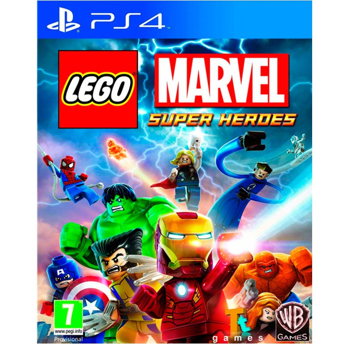 LEGO Marvel Super Heroes, за PlayStation 4 image