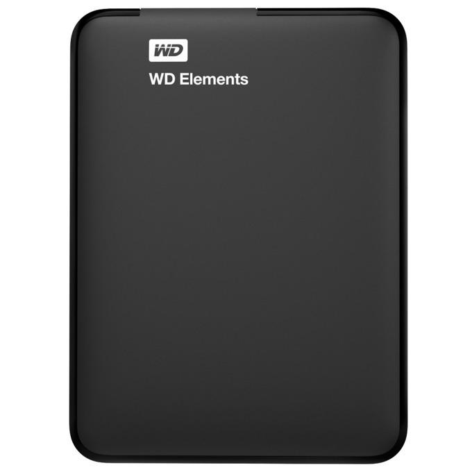 """2TB WD Elements, външен, 2.5"""" (6.35 cm), USB3.0 image"""