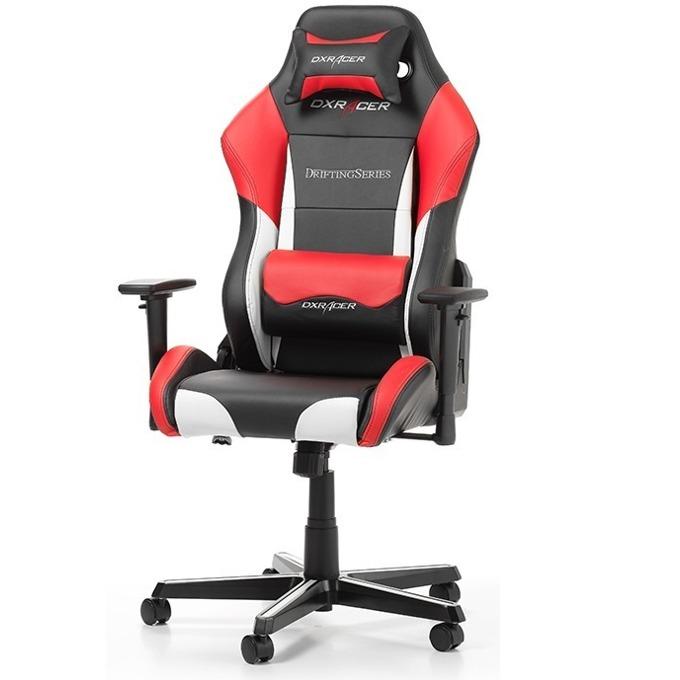 Геймърски стол DXRacer Drifting OH/DM61/NWR, черен/бял/червен image
