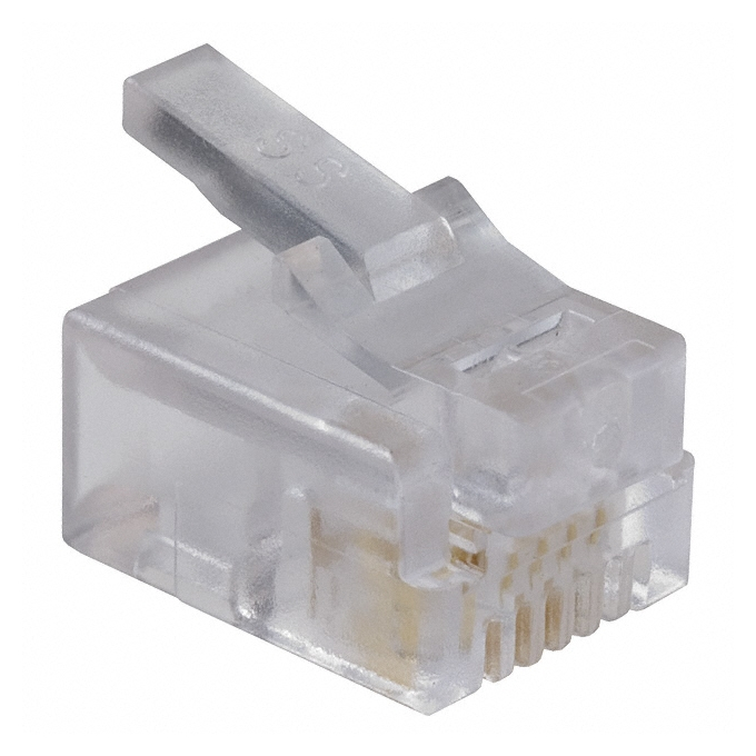 RG11, Phone Connector 6p/4c, за телефонен кабел