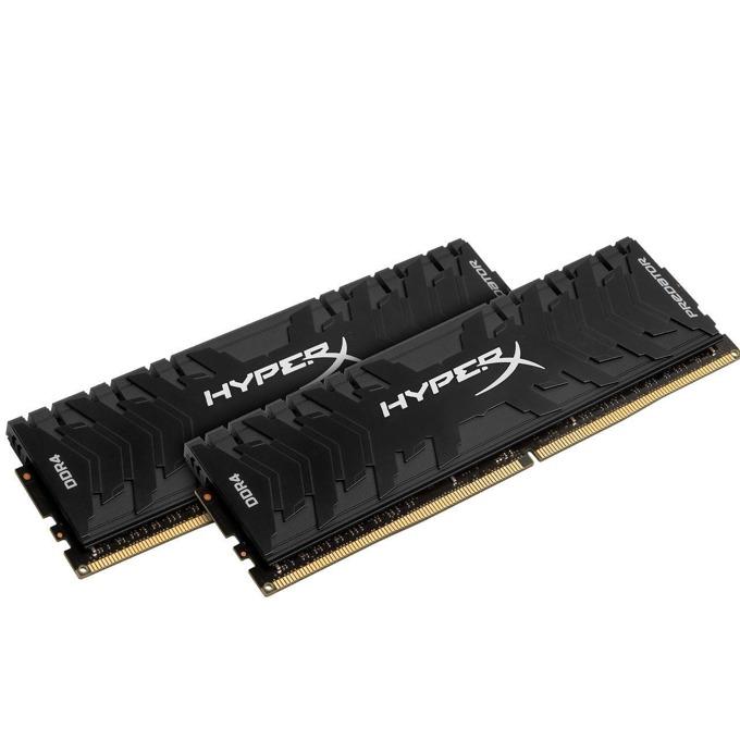 32GB (2x 16GB) DDR4 2666MHz, HyperX Predator, HX426C13PB3K2/32, 1.35V image