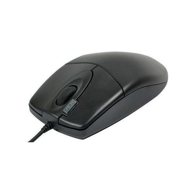 Мишка A4Tech OP-620D, оптична, черна, USB image