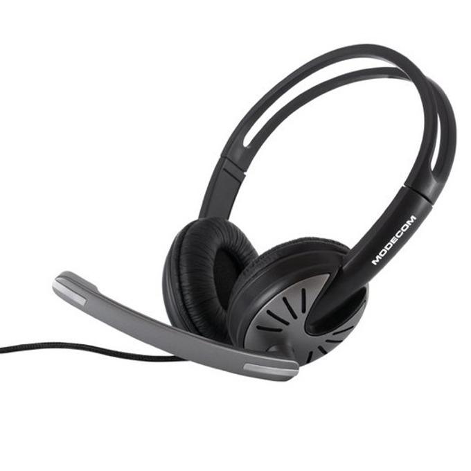 Слушалки Modecom MC-816, микрофон, черни image