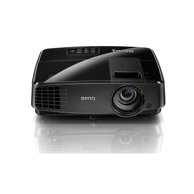 Проектор BenQ MX507, DLP 3D Ready, XGA (1024 x 768), 13000:1, 3200 lumens, Speaker 2W x 1, D-sub, Composite Video, S-Video, USB (Type mini B), RS232, IR Receiver image
