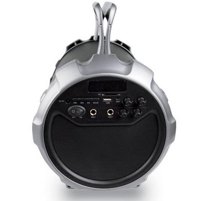 Тонколона DIVA Boombox BS28, 2.1, 21W RMS, Bluetooth, USB, AUX, FM Тунер, SD card, черна image
