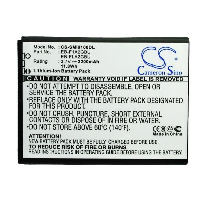 Батерия (заместител) за телефон Samsung Galaxy SII, GT-I9100, 3.7V/3200 mAh  image