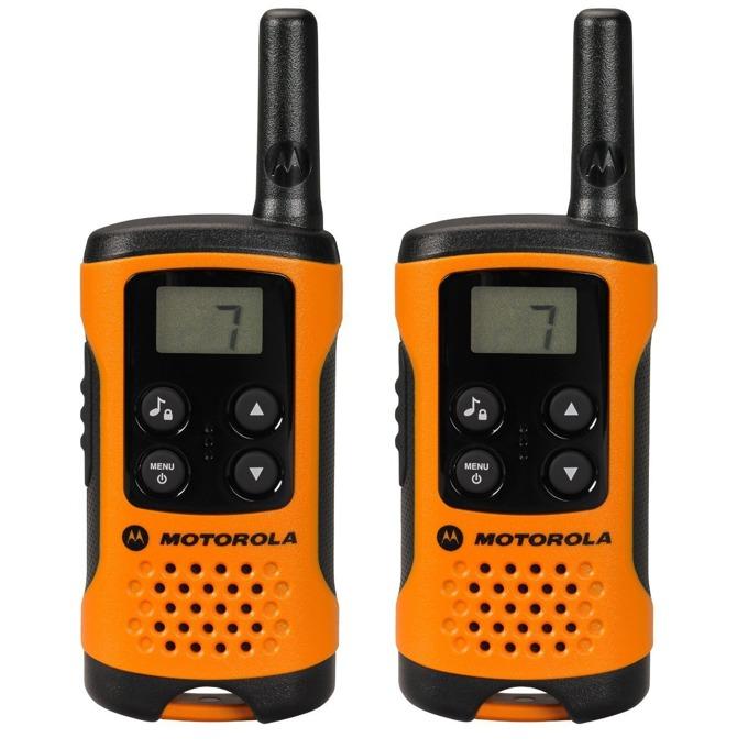 Walkie-Talkie Motorola TLKR T41, PMR446, 8 канала, до 4 km, LCD, оранжев image