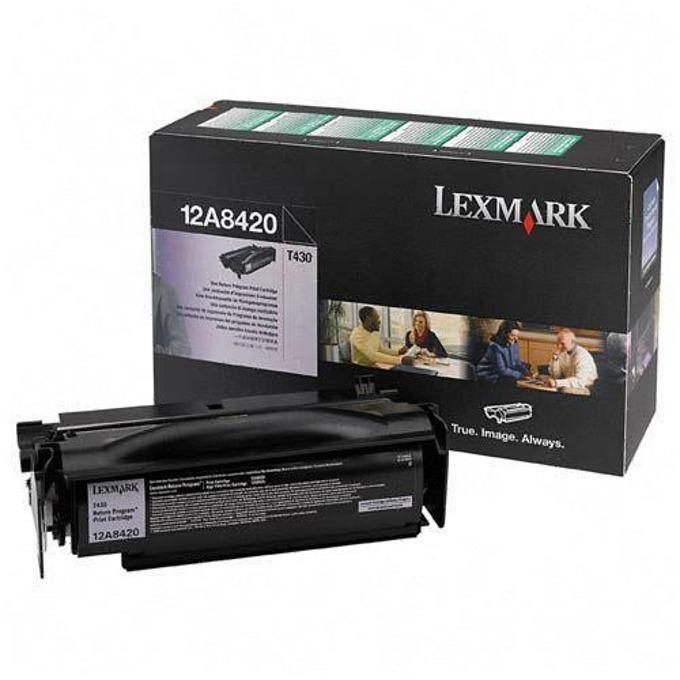 КАСЕТА ЗА LEXMARK T 430 - Return program cartrid product
