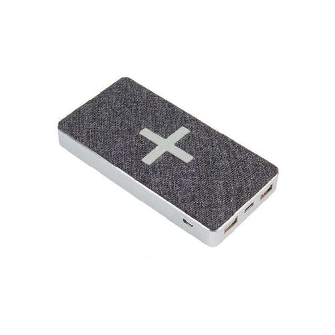 Външна батерия /power bank/ A-Solar Xtorm XW300 Power Bank Wireless Qi Pad, 8000 mAh, сива image