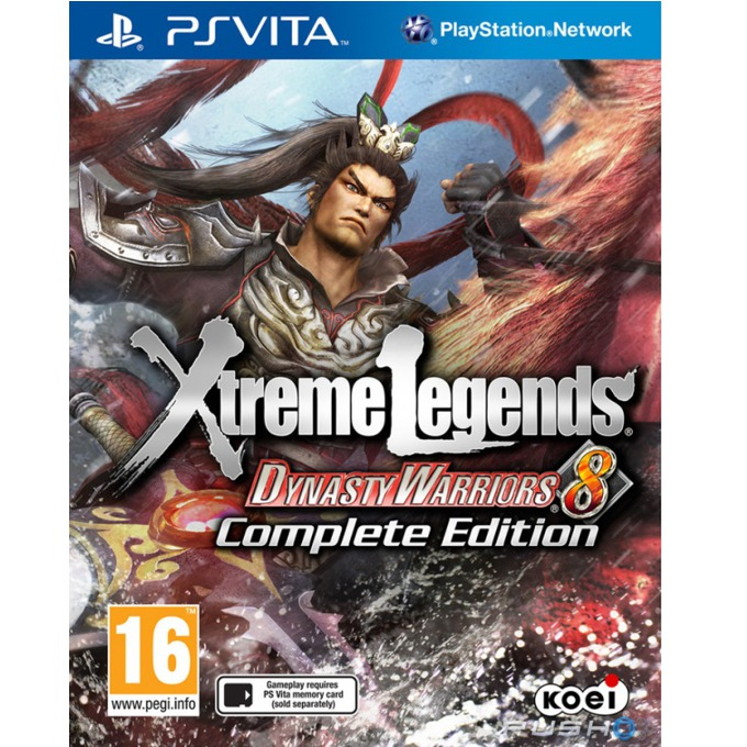Dynasty Warriors 8: Xtreme Legends - Complete Edition, за Vita image
