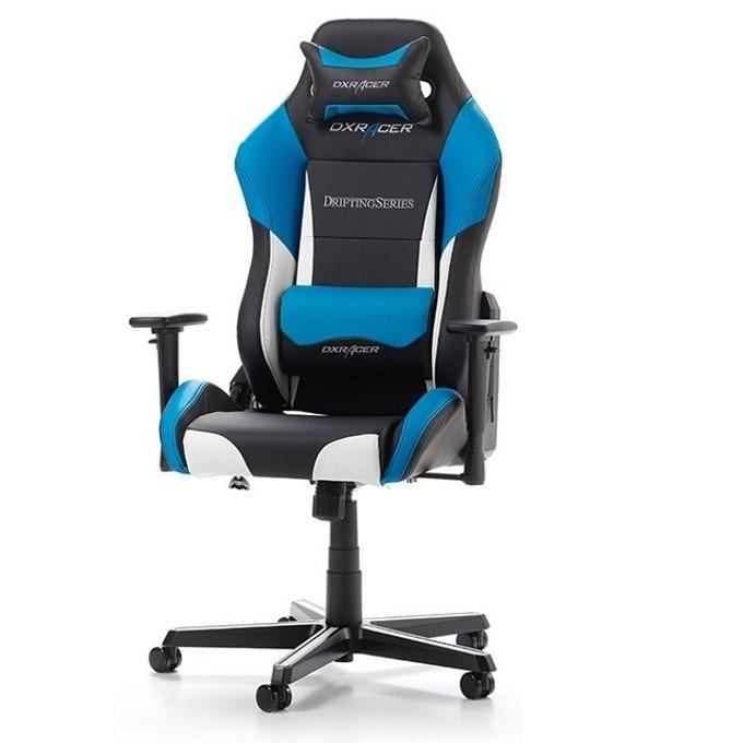 Геймърски стол DXRacer Drifting OH/DM61/NWB, черен/бял/син image