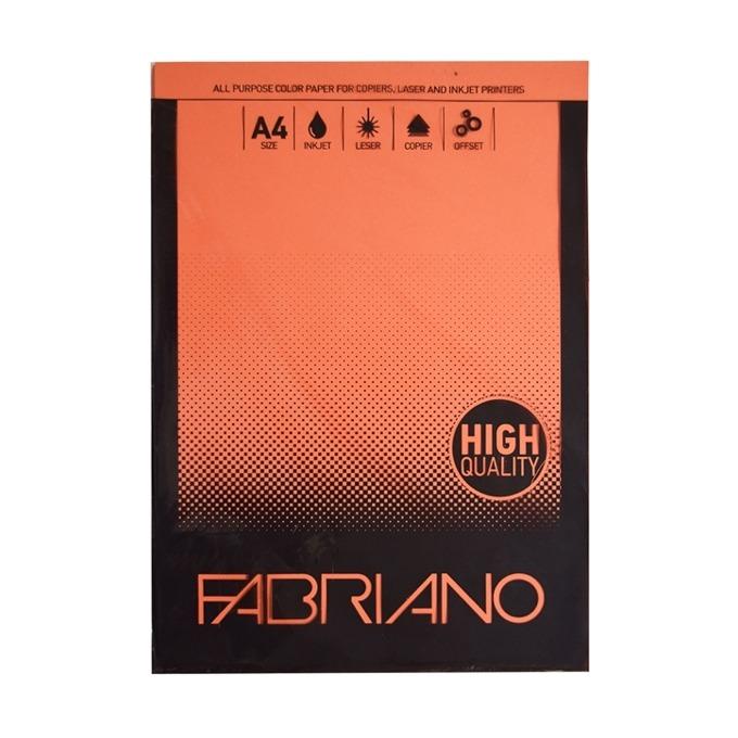 Fabriano A4, 160 g/m2, портокал, 50 листа product