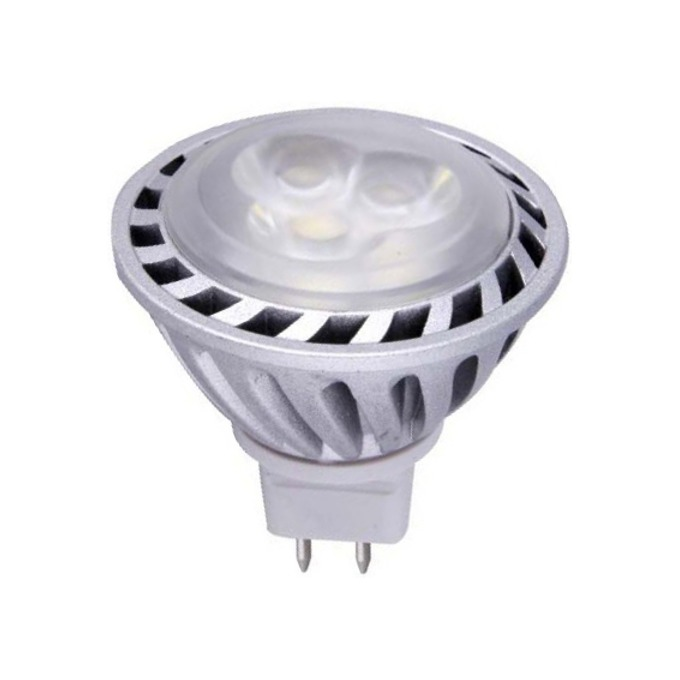 LED крушка, ORAX MR16-3X1W-CW-CREE, 4W image