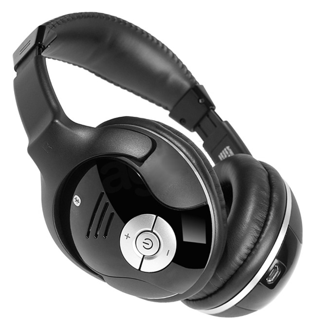 Слушалки A4Tech RH-500 WL, безжични, USB-порт, черни  image