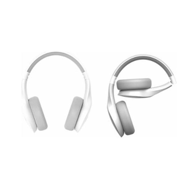 Слушалки Motorola Pulse Escape, безжични (Bluetooth), микрофон, 40мм говорители, 6 часа време за работа, сгъваеми, бели image