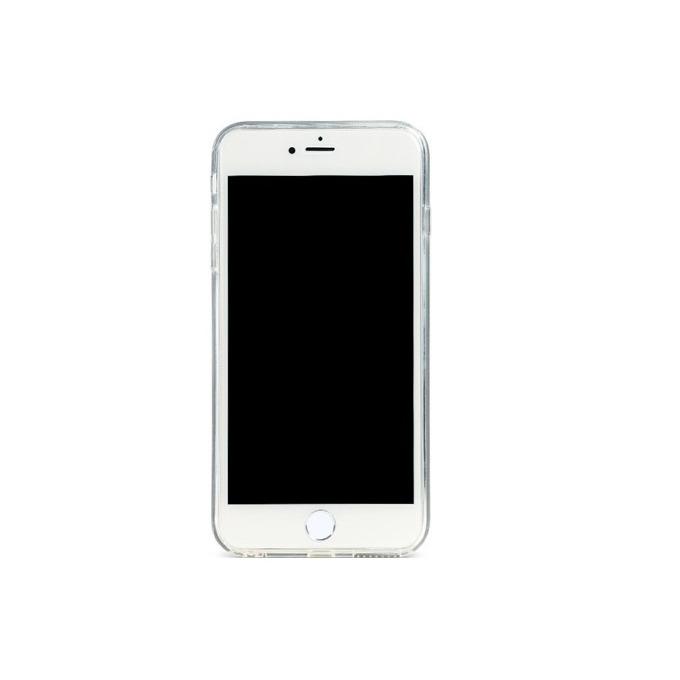 Калъф за Apple iPhone 6/6S, силиконов протектор, TPU, Slim, Remax Glitter, сребрист  image