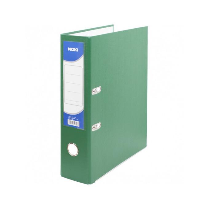 Класьор Noki, за документи с формат до А4, дебелина 5см, с метален кант, зелен image