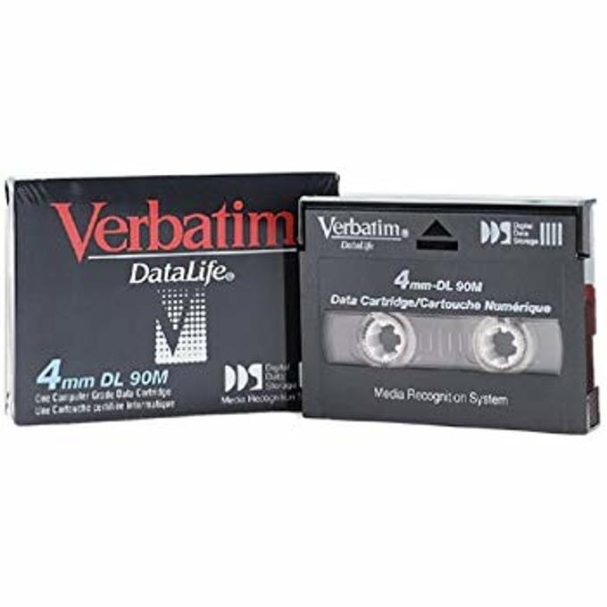 DAT КАСЕТА VERBATIM - DDS - 4mm/90M - 2.0 GB