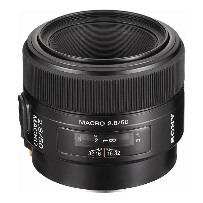 Обектив Sony SAL-50M28, 50mm, f/2.8 Macro, DSLR image
