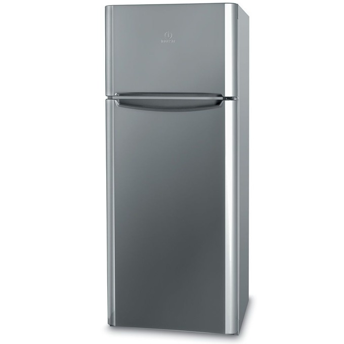 Хладилник с камера Indesit TIAA 10X, клас A+, 252 л. общ обем, свободностоящ, 239 kWh/годишно, инокс image
