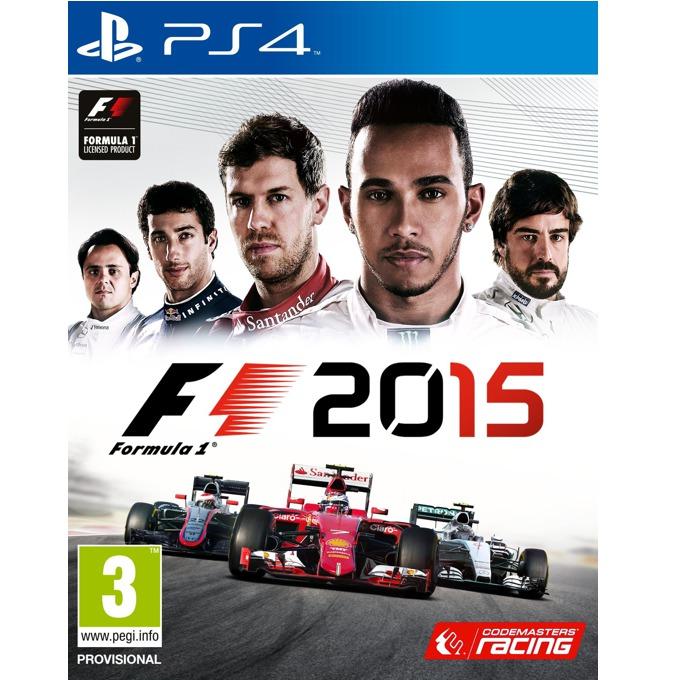 Игра за конзола F1 2015, за PS4 image