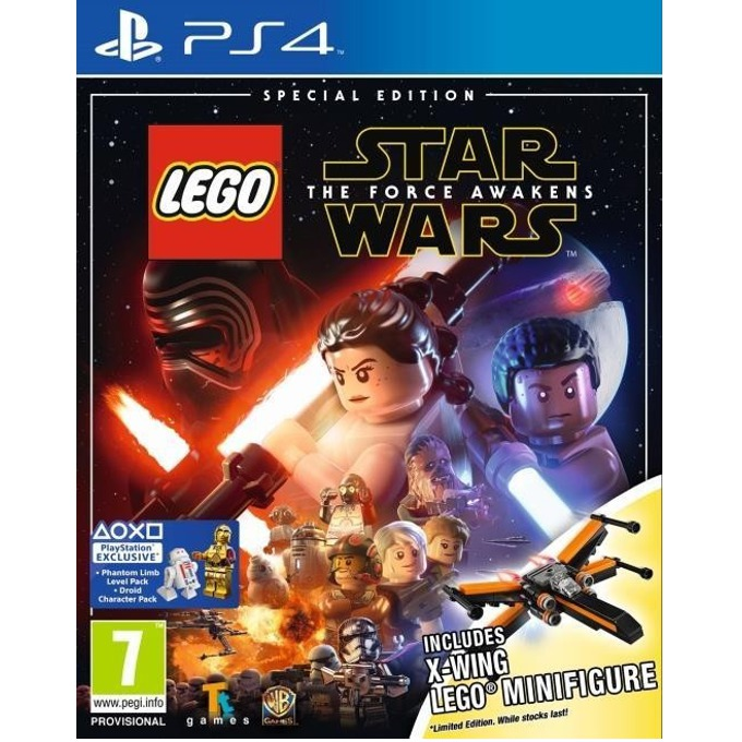 LEGO Star Wars The Force Awakens Toy Edition, за PS4 image