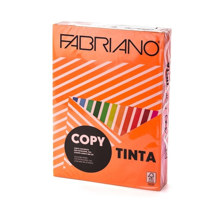 Fabriano Copy Tinta, A4, 80 g/m2, оранжева, 500 ли
