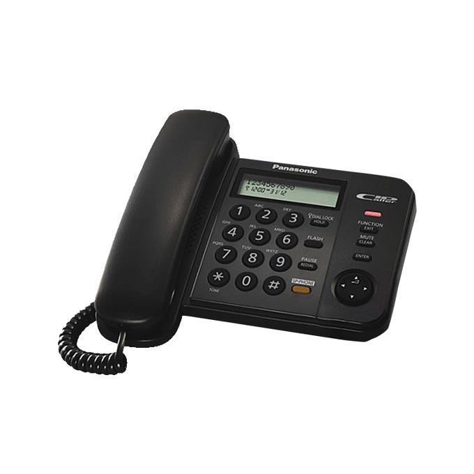 Стационарен телефон Panasonic KX-TS580FXB