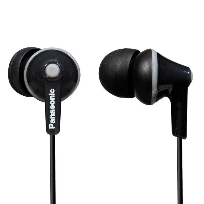 Слушалки тип тапи Panasonic RP-HJE125E-K - черни