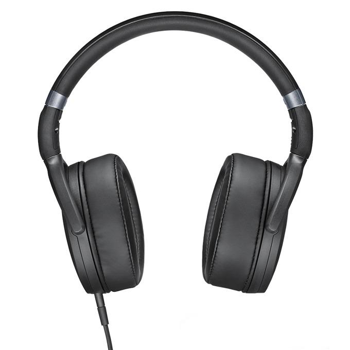 Слушалки Sennheiser HD 4.30i, микрофон, 18Hz-22kНz честотен диапазон, 1.4 м ĸaбeл, черни image
