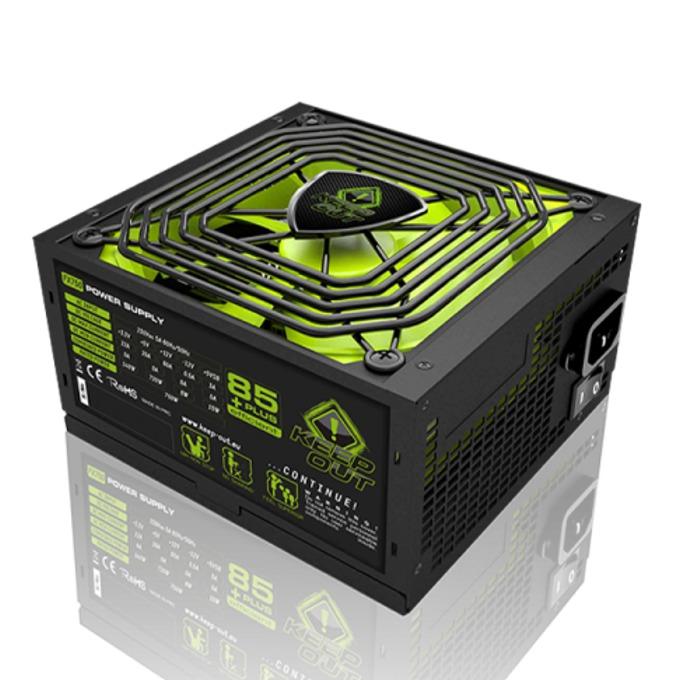 Захранване KEEPOUT FX700V2, 700W, Active PFC, 140mm вентилатор image