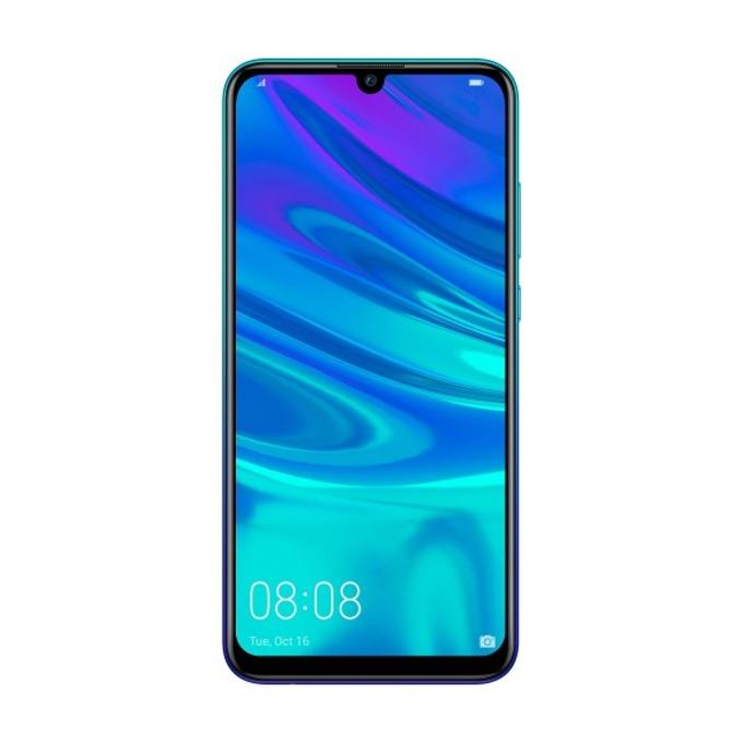 """Huawei P Smart (2019)(син), поддържа 2 sim карти, 6.21""""(15.77 cm) IPS дисплей, осемядрен Cortex A73 2.2 GHz, 3GB RAM, 64GB Flash памет, 13 MPix + 13 MPix & 8 MPix камера, Android, 160 g image"""