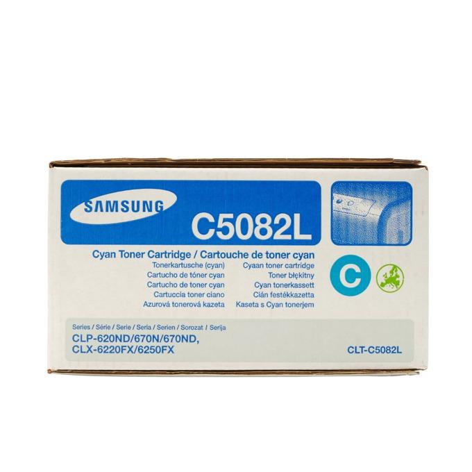 КАСЕТА ЗА SAMSUNG CLP620/CLP670/CLX6220/CLX6250 - Cyan High capacity - P№ CLT-C5082L - заб.: 4000k image