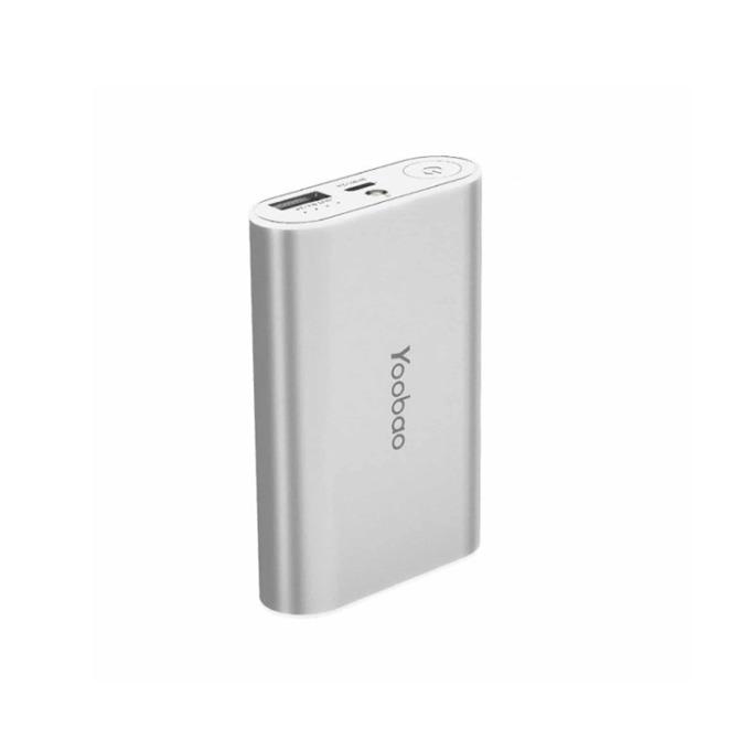Външна батерия /power bank/ Yoobao YB M3 7800 mAh, сив  image
