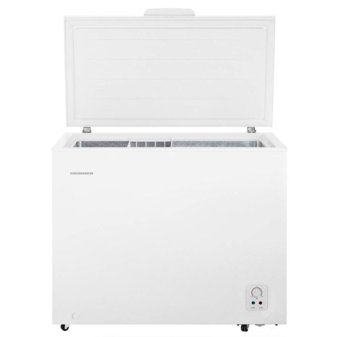 Фризер Heinner HCF-N250F+, 245 л. общ обем, свободностоящ, 245 kWh годишно, бял image