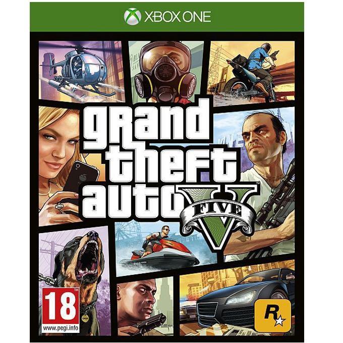 Игра за конзола GTA: Grand Theft Auto V, за XBOX ONE image