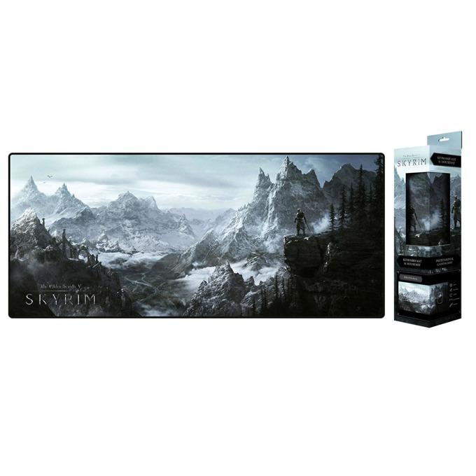 """Подложка за мишка Gaya Skyrim """"Valley"""", гейминг, многоцветна, 800 x 350 x 4 mm image"""