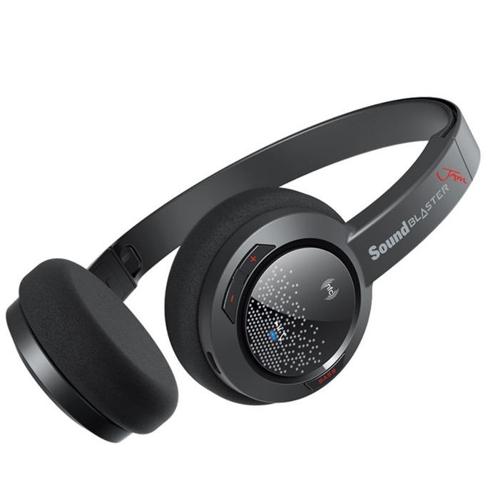 Слушалки Creative Sound Blaster Jam, Bluetooth, микрофон, черни image