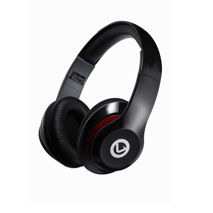Слушалки Volkano VF401-B, микрофон, 40мм говорители, 1.2м кабел, сгъваеми, черни image