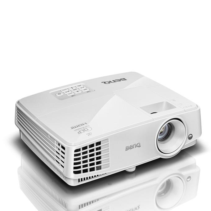 Проектор BenQ MW571, DLP, 3D Ready, WXGA (1280 x 800), 13 000:1, 3200 lm, HDMI, D-sub, mini USB (Type B), RS232, RJ-45 image